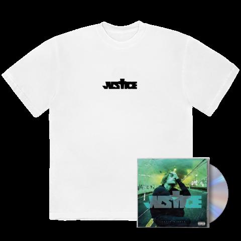 √JUSTICE CD + CROSS T-SHIRT von Justin Bieber - CD Bundle jetzt im Bravado Shop