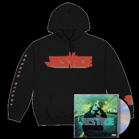 √JUSTICE CD + CROSS HOODIE von Justin Bieber - CD Bundle jetzt im Bravado Shop