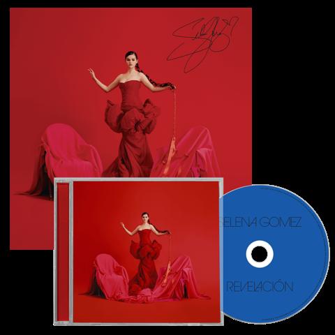 √Revelacion (CD + Signed Art Card) von Selena Gomez -  jetzt im Bravado Shop