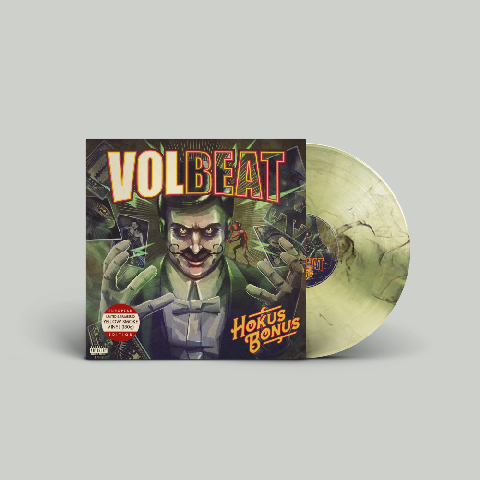 √Hokus Bonus (Ltd. Coloured LP - EU Version) von Volbeat - lp jetzt im Bravado Shop