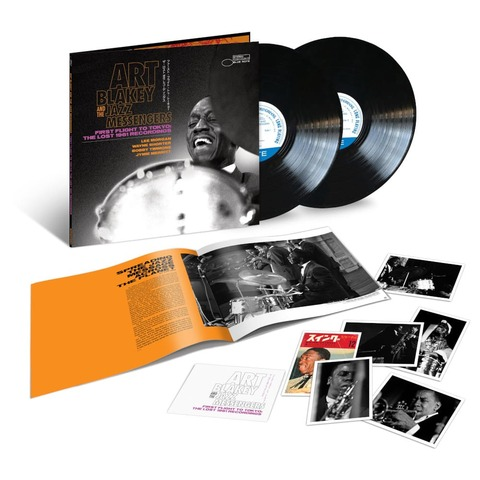 First Flight To Tokyo: The Lost 1961 Recordings (2LP) von Art Blakey & The Jazz Messengers - 2LP jetzt im Bravado Store