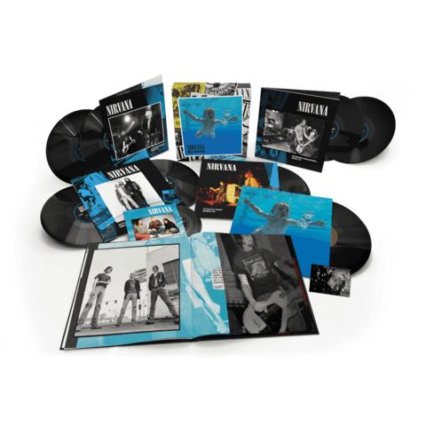 Nevermind 30th Anniversary Edition von Nirvana - Boxset (8LPs + 7inch) jetzt im Bravado Store
