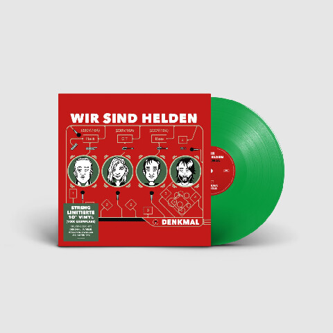 √Denkmal (Ltd. 10inch) von Wir Sind Helden -  jetzt im Bravado Shop