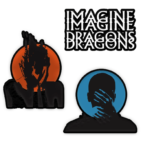 √Heart Attacks von Imagine Dragons - Set of patches jetzt im Bravado Shop