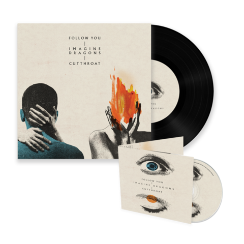 √Follow You/Cutthroat (Single Bundle) von Imagine Dragons - 7inch + CD Single jetzt im Bravado Shop