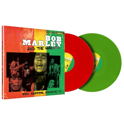 The Capitol Session '73 (Limited Trans Green + Trans Red 2LP) von Bob Marley & The Wailers - 2LP jetzt im Bravado Store