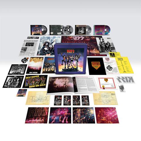 Destroyer 45 von Kiss - Exclusive Super Deluxe 4CD + Blu-ray Audio jetzt im Bravado Store
