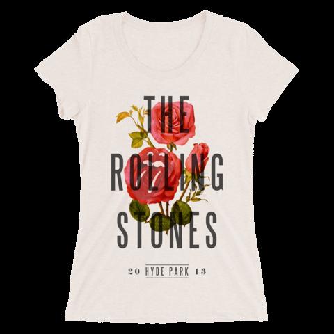 √Hyde Park 2013 von The Rolling Stones - Girlie Shirt jetzt im Bravado Shop