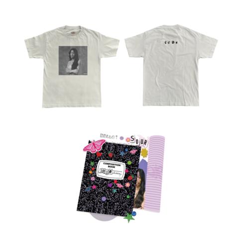 √Sour (Journal CD + T-Shirt + Signed Card) von Olivia Rodrigo - CD + T-Shirt jetzt im Bravado Shop