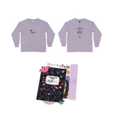 √Sour (Journal CD + Longsleeve + Signed Card) von Olivia Rodrigo - CD + Longsleeve jetzt im Bravado Shop