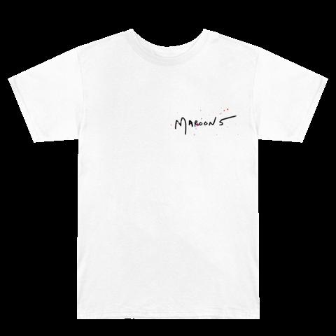 √M5 White von Maroon 5 - t-shirt jetzt im Bravado Shop