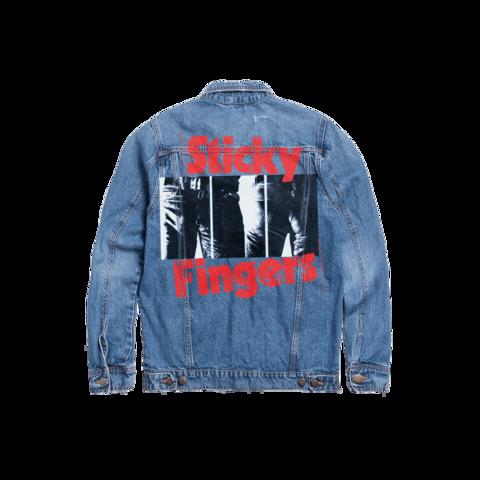 √Sticky Fingers von The Rolling Stones - Denim Jacket jetzt im Bravado Shop