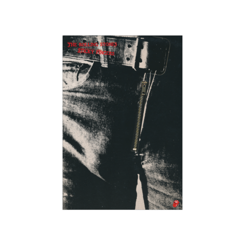 √Sticky Fingers Album Cover von The Rolling Stones - lithograph jetzt im Bravado Shop
