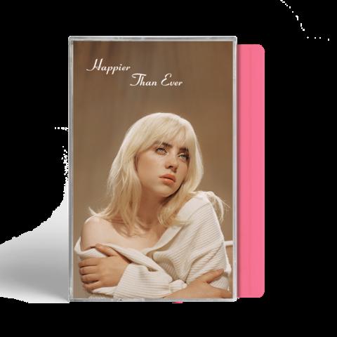 √'Happier Than Ever' Exclusive Pink Cassette von Billie Eilish - MC jetzt im Bravado Shop