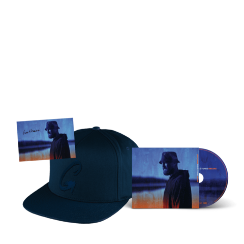 √Blaue Stunde (Deluxe CD + Cap + Autogrammkarte) von Gentleman - CD-Bundle jetzt im Bravado Shop