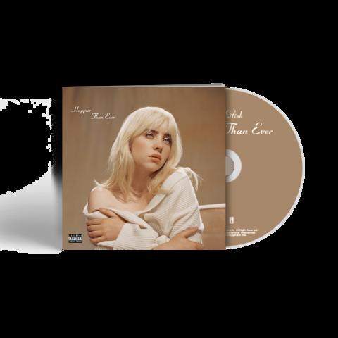√'Happier Than Ever' CD Photobook von Billie Eilish -  jetzt im Bravado Shop