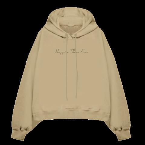 √Happier Than Ever von Billie Eilish - Hooded Sweatshirt jetzt im Bravado Shop