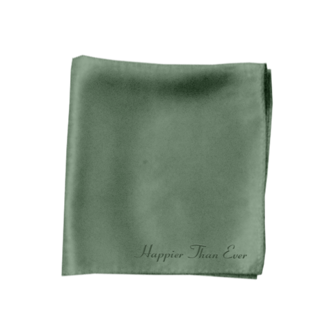 √Happier Than Ever von Billie Eilish - Satin Bandana jetzt im Bravado Shop