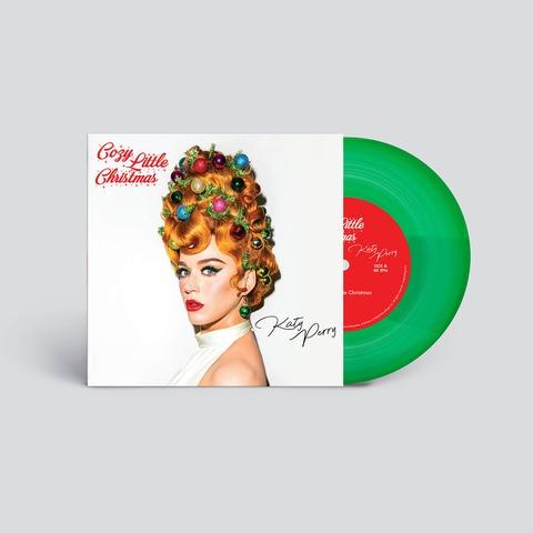 Cozy Little Christmas von Katy Perry - Translucent Green 7Inch Vinyl jetzt im Bravado Store