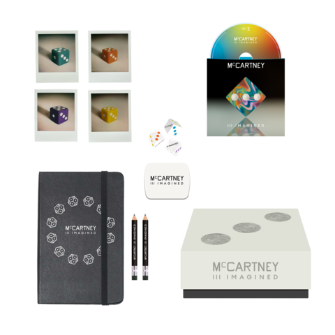III Imagined - Ltd. Edition Dice, Notebook & CD Boxset von Paul McCartney - Box jetzt im Bravado Shop