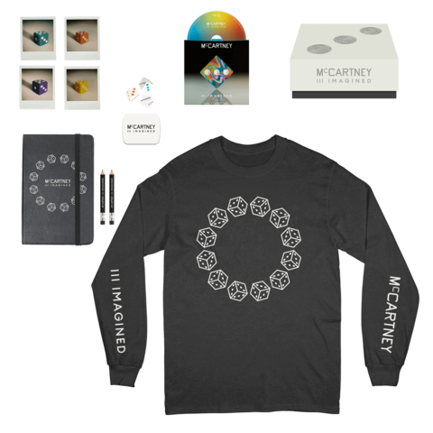III Imagined (Ltd. Box + Black Longsleeve) von Paul McCartney - Box +  Longsleeve jetzt im Bravado Shop