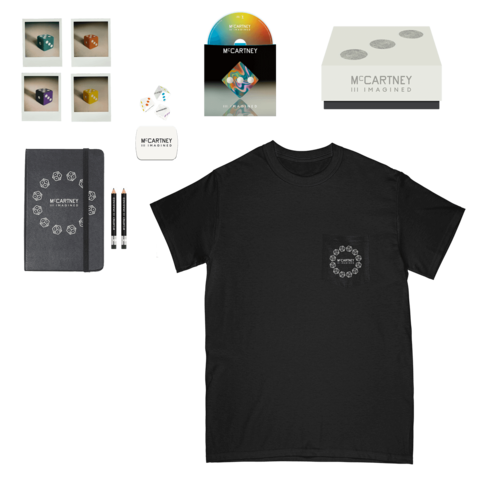 III Imagined (Ltd. Box + Black Pocket T-Shirt) von Paul McCartney - Box + T-Shirt jetzt im Bravado Shop
