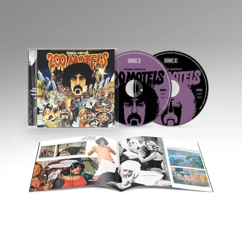200 Motels - Original Motion Picture Soundtrack (50th Anniversary) von Frank Zappa - 2CD jetzt im Bravado Store
