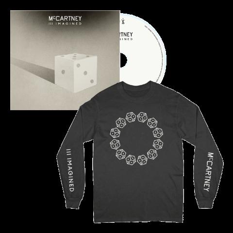III Imagined (CD + Black Longsleeve) von Paul McCartney - CD + Longsleeve jetzt im Bravado Shop