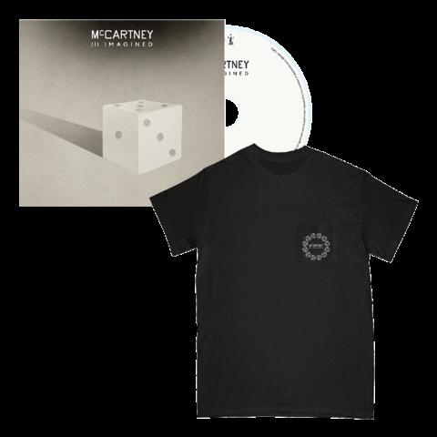 √III Imagined (CD + Black Pocket T-Shirt) von Paul McCartney - CD + T-Shirt jetzt im Bravado Shop