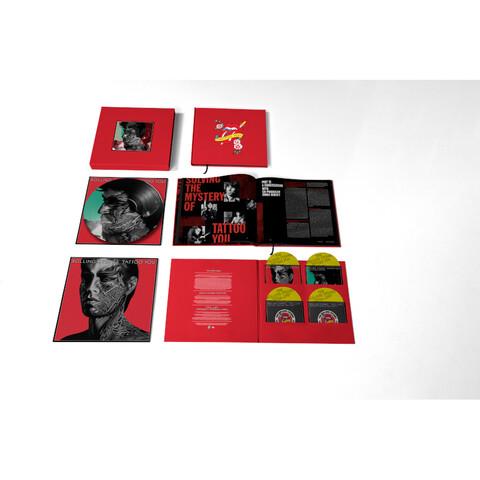 Tattoo You (40th Anniversary Remastered Super Deluxe 4 CD Boxset) von The Rolling Stones - 4CD + Picture LP Boxset jetzt im Bravado Store