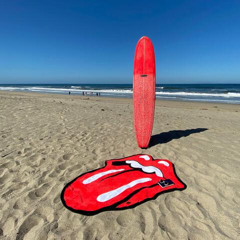Slowtide x The Rolling Stones Classic Tongue von The Rolling Stones - Beach Towel jetzt im Bravado Shop