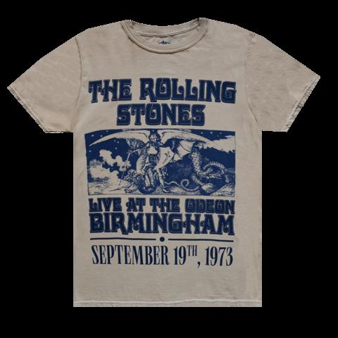 Vintage Birmingham '73 Tour von The Rolling Stones - T-Shirt jetzt im Bravado Store