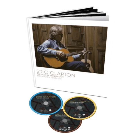 The Lady In The Balcony: Lockdown Sessions (Limited Deluxe Book DVD+BD+CD) von Eric Clapton - DVD+BD+CD jetzt im Bravado Store