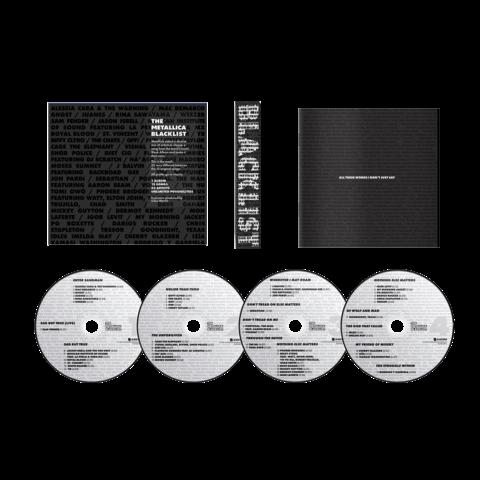 The Metallica Blacklist - 4CD von Various Artists - 4CD jetzt im Bravado Store