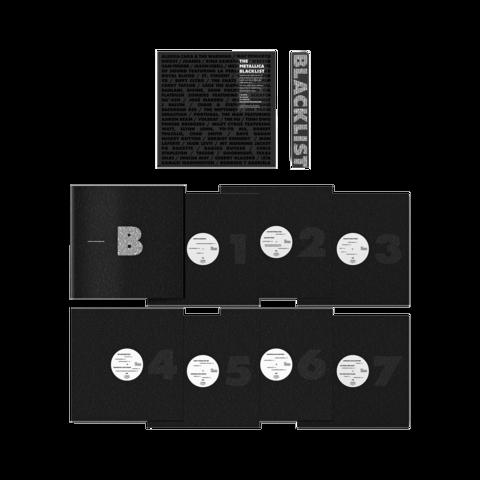The Metallica Blacklist - 7LP von Various Artists - 7LP jetzt im Bravado Store