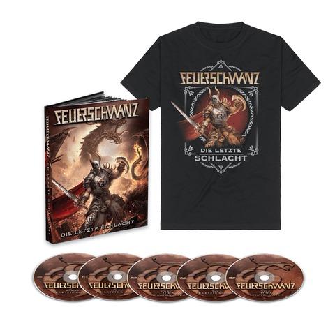 Die Letzte Schlacht (Ltd. Mediabook + T-Shirt) von Feuerschwanz - Mediabook + T-Shirt jetzt im Bravado Store