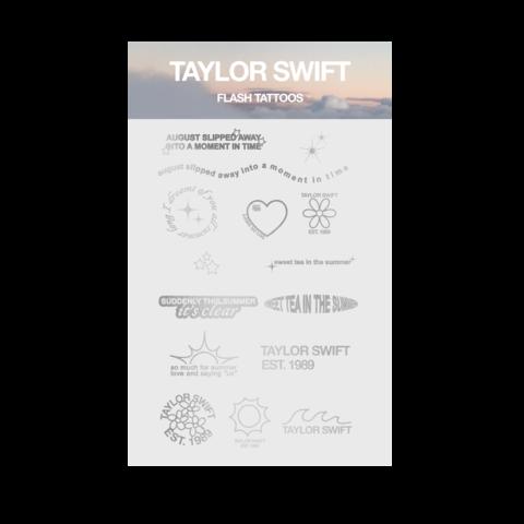 """""""just a summer thing"""" von Taylor Swift - metallic tattoos jetzt im Bravado Shop"""