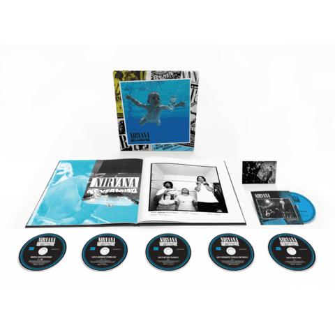 Nevermind 30th Anniversary Edition von Nirvana - Boxset (5CD / 1BluRay) jetzt im Bravado Store