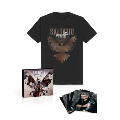 Für Immer Frei (Unsere Zeit Ltd. Edition + T-Shirt  +Autogrammkarten-Set) von Saltatio Mortis - 2CD + DVD + T-Shirt + Autogramm jetzt im Bravado Store
