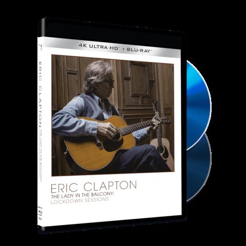 The Lady In The Balcony: Lockdown Sessions von Eric Clapton - Ltd. 4K UHD+BluRay jetzt im Bravado Store