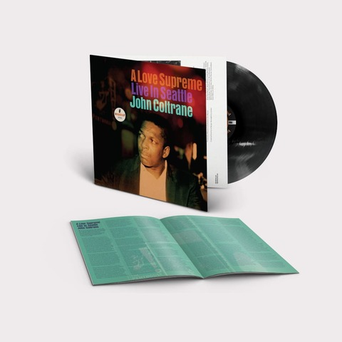A Love Supreme: Live In Seattle von John Coltrane - LP jetzt im Bravado Store