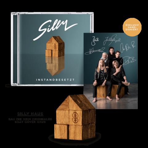 """Instandbesetzt (CD + """"Silly Haus"""") von Silly - CD-Bundle jetzt im Bravado Store"""