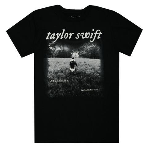 I WOULD DIE FOR YOU IN SECRET von Taylor Swift - T-Shirt jetzt im Bravado Shop
