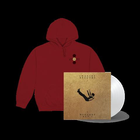 Mercury - Act I (Exclusive White Vinyl + Hoodie) von Imagine Dragons - LP + Hoodie jetzt im Bravado Shop