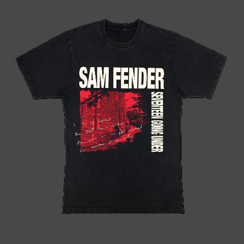 Seventeen Going Under von Sam Fender - T-Shirt jetzt im Bravado Store
