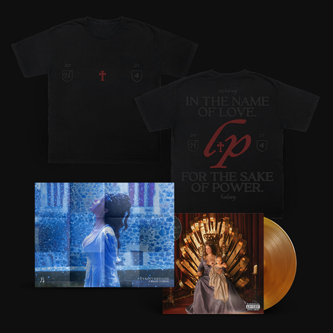 If I Can't Have Love, I Want Power (Exclusive Transparent Orange Vinyl + T-Shirt + Poster) von Halsey - LP + T-Shirt + Poster jetzt im Bravado Store