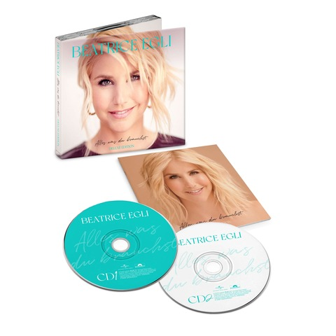 Alles, was du brauchst (2CD Deluxe Edition signiert) von Beatrice Egli - 2CD jetzt im Bravado Store