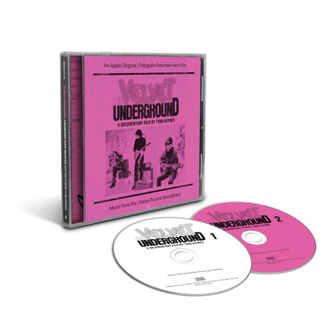 A Documentary Film By Todd Haynes - Music From The Motion Picture Soundtrack (2CD) von The Velvet Underground - 2CD jetzt im Bravado Store