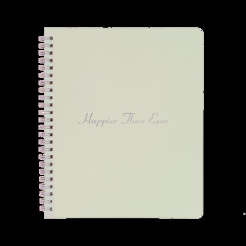 HAPPIER THAN EVER von Billie Eilish - Notebook jetzt im Bravado Store