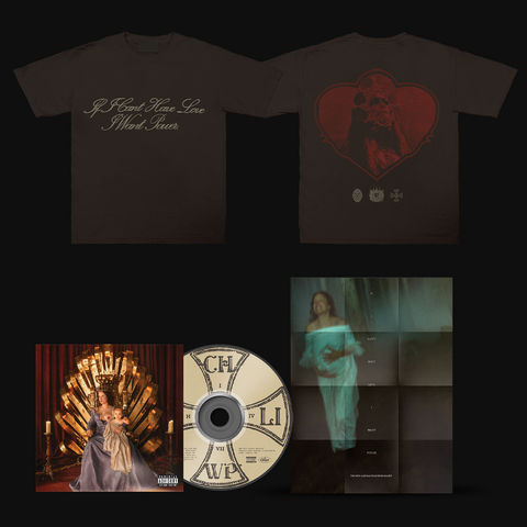 If I Can't Have Love, I Want Power CD + T-Shirt+ Poster) von Halsey - CD +  T-Shirt + Poster jetzt im Bravado Store